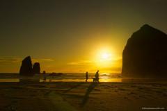 Al Brown - Sundown at Haystack Rock